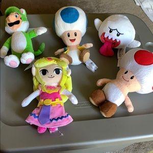Zelda Princess Mario Party Plush